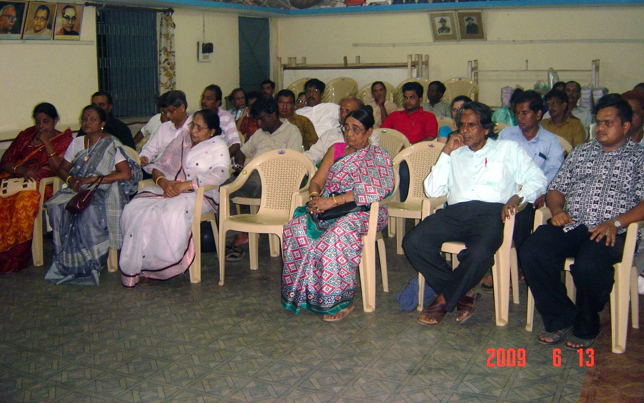 Eminent scholars in the audience