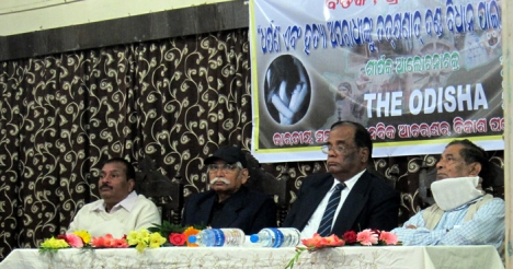 guests on the dais