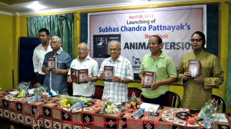 the book unveiled by prof. ajit kumar mohanty