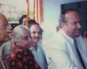 Justice Anang Pattanayak inaugurating Chetana Bhawan