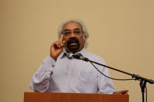 Sam Pitroda addressing osa, 2013
