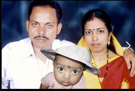 J P Das with family