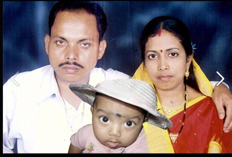 J P Das with family