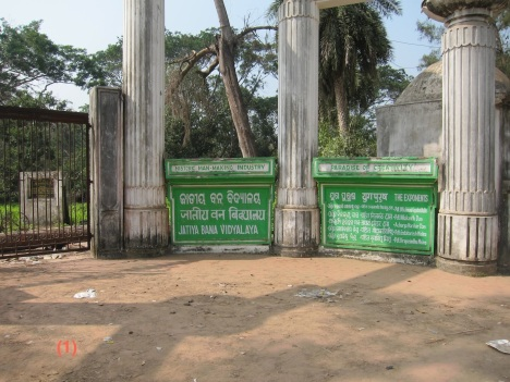 Jatiya Vana Vidyalaya reduced to a sign board