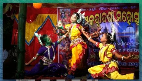 Odishi in Champak Dwadasi Festival