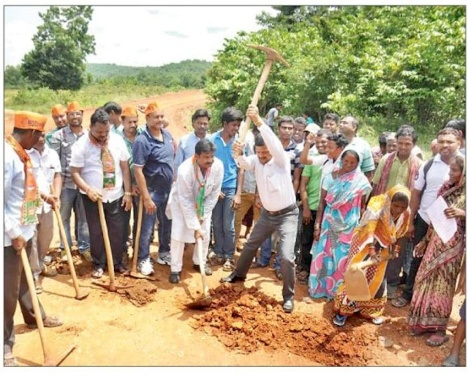 BJP destroys corpus delicti of land grab 2