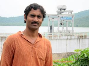 Deviprasanna on the dam