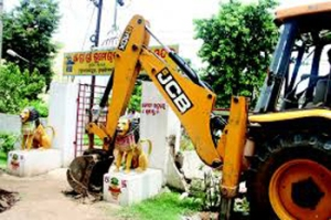 demolition of temple_one
