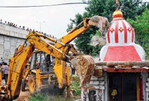demolition of temples_three