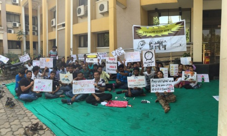 science scholars in hunger strike