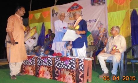 felicitation to Hemant Das