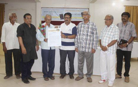 felicitation_Pitambar Mishra