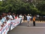 SCP addressing language activists on MG Road 2